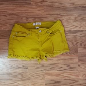 Pants - Mustard colored shorts